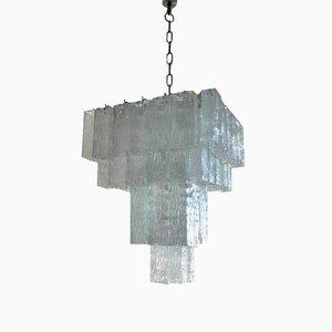 Lámpara de araña italiana de Venini, años 70