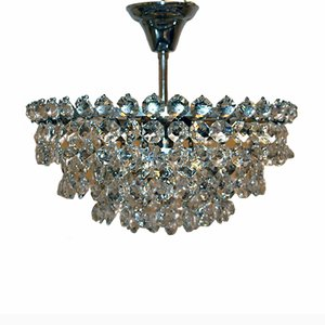 Vintage Crystal Chandelier from Bakalowits & Söhne, 1960s