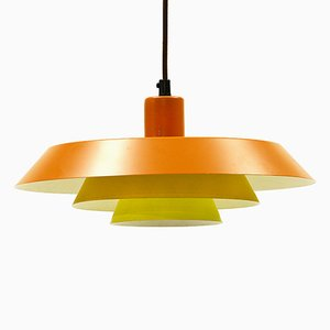 Troika Pendant Light by Bent Karlby for Lyfa, 1960s