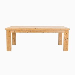 Tavolo da pranzo in legno di pino di Guy Rey-Millet & Jean Prouvé, anni '70