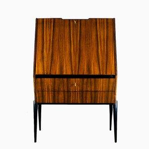 Mueble bar Mid-Century de hojas abatibles, años 50