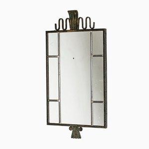 Espejo de bronce de Böhlmarks, años 30