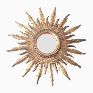 Mid-Century Spanish Sun Mirror, 1950s