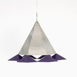 Metal Pendant Lamp, 1960s