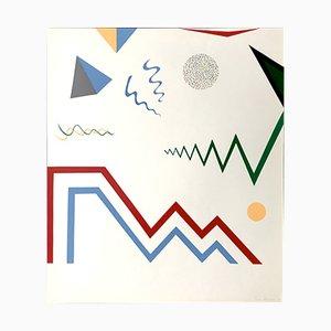 Impression Sérigraphique Vintage par Ian Stratton, 1970