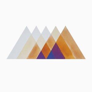 Espejo Transience grande de triángulos de David Derksen & Lex Pott para Transnatural