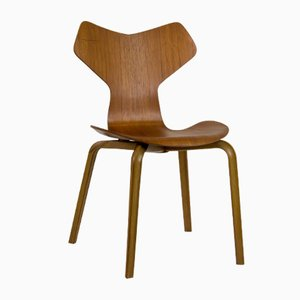 Mid-Century Grand Prix Chair by Arne Jacobsen for Fritz Hansen