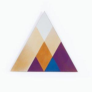 Dreieckiger Kleiner Transience Spiegel von David Derksen & Lex Pott für Transnatural