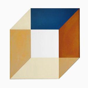 Espejo Transience pequeño de cubos de David Derksen & Lex Pott para Transnatural