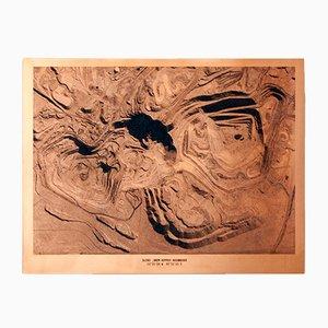 Grabado Copper Mine Etching No. 1 de David Derksen