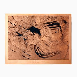 Oggetto decorativo Copper Mine Etching Nr. 1 di David Derksen