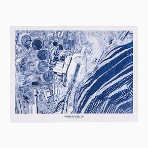 Copper Mine Etching Print No. 6 by David Derksen, 2018