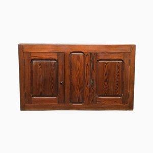 Crednza da scuola vintage in legno di pino