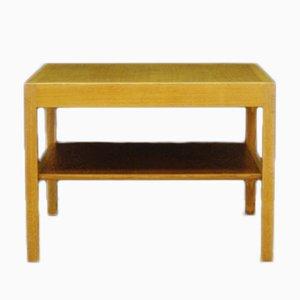 Tavolino da caffè in legno di frassino di Hans J. Wegner per Andreas Tuck, Danimarca