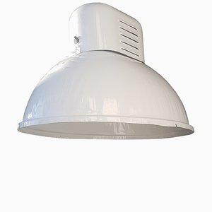 Lámpara de fábrica ORP-2 industrial de Predom-Mesko, años 60