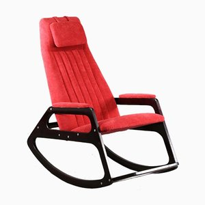 Mid-Century Italian Rocking Chair, 1960s