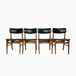 Mid-Century Danish Chairs, 1950s, Set of 4