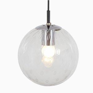 Lámpara colgante holandesa Mid-Century esférica de Raak, años 60