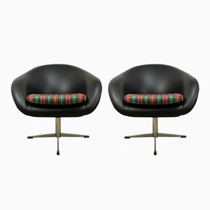 Mid-Century Cocktail Sessel, 2er Set