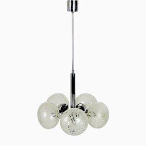 Lámpara de techo alemana Mid-Century, años 70
