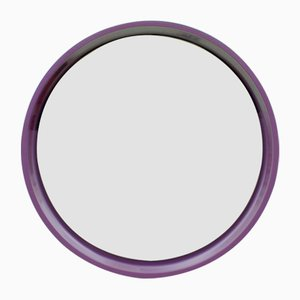 German Small Purple Mirror, 1970s