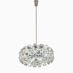Lámpara de araña Drum vienesa de Bakalowits & Sohne, años 60