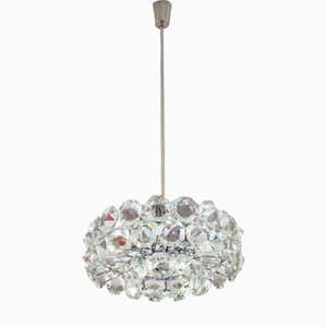 Viennese Drum Chandelier from Bakalowits & Sohne, 1960s