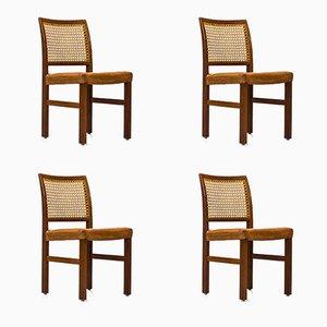 Finnische Stühle von Carl Gustaf Hiort af Ornäs für Mikko Nupponen, 1950er, 4er Set