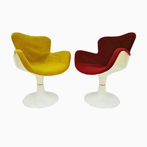 Trèfle Armchairs by Adam Christian for Airborne, 1960s, Set of 2