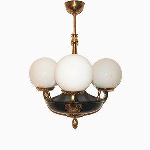 Lámpara de araña estilo Imperio, años 50