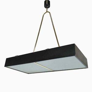 Luz de techo italiana de Stilnovo, años 50