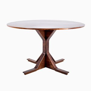 Vintage 522 Rio Rosewood Table by Gianfranco Frattini for Bernini