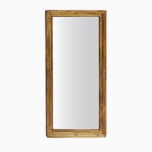 Antique Rectangular Gilt Mirror