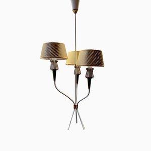 Lámpara de araña de Lunel, años 50