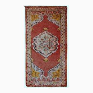 Vintage Handmade Turkish Anatolian Rug, 1920s