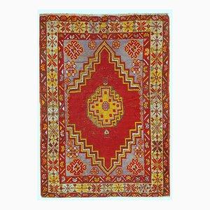 Handgemachter Türkisch Anatolischer Vintage Teppich, 1920er
