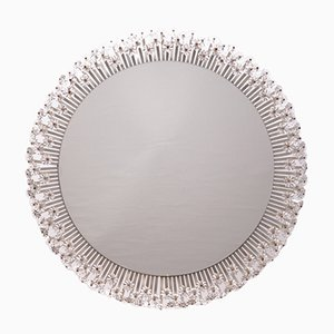 Large Round Illuminated Mirror by Emil Stejnar for Rupert Nikoll, 1950s