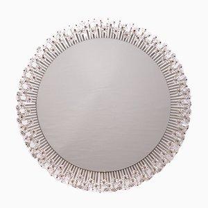 Specchio rotondo illuminato di Emil Stejnar per Rupert Nikoll, anni '50