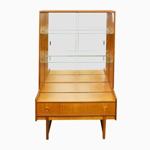 Mid-Century Teak and Glass Display Cabinet from Turnidge