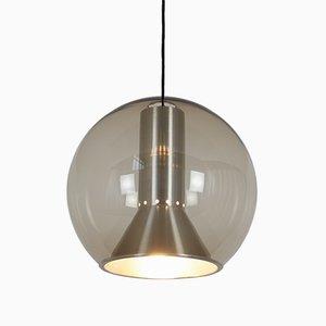 Lámpara colgante Globe vintage de Frank Ligtelijn para Raak