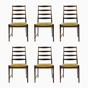 Model 113 Dining Chairs in Rosewood by Torbjørn Afdal for Vamo Sonderborg, 1960s, Set of 6