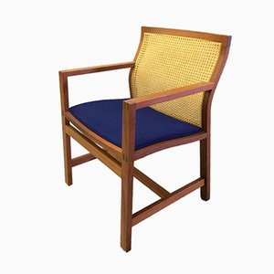 Model 7512 Mahogany King Series Armchair by Thygesen & Sørensen for Botium, 1980s