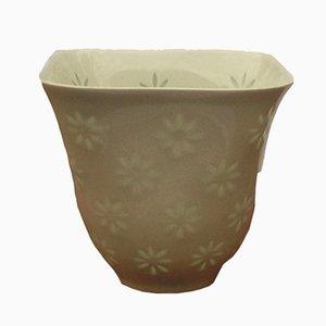 Jarrón de porcelana de Friedl Holzer-Kjellberg para Arabia, años 60