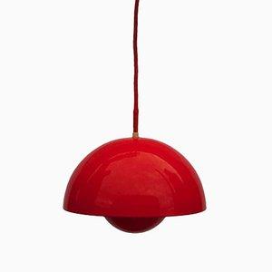 Lámpara colgante maceta de Verner Panton para Louis Poulsen, 1969