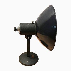 Lámpara de mesa industrial vintage ajustable, años 50