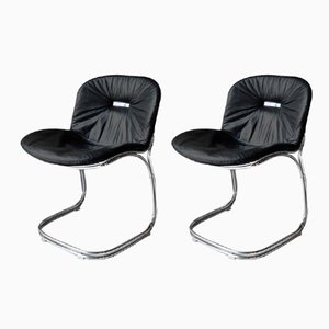 Sabrina Chair by Gastone Rinaldi for Rima, 1970s, Set of 2