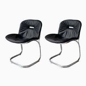 Sabrina Chair by Gastone Rinaldi for Rima, 1970s, Set of 2