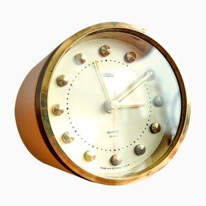 Reloj de mesa con alarma vintage de Prim, años 80