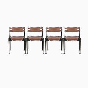 Montreal Stuhl von Otto Frei für Carl Frösche & Co, 1967, 4er Set
