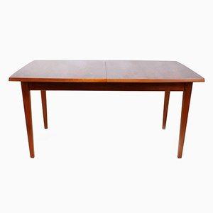 Tavolo da pranzo Mid-Century in palissandro e teak, anni '70